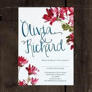 17 best ideas about wedding invitations australia on With watercolor wedding invitations australia