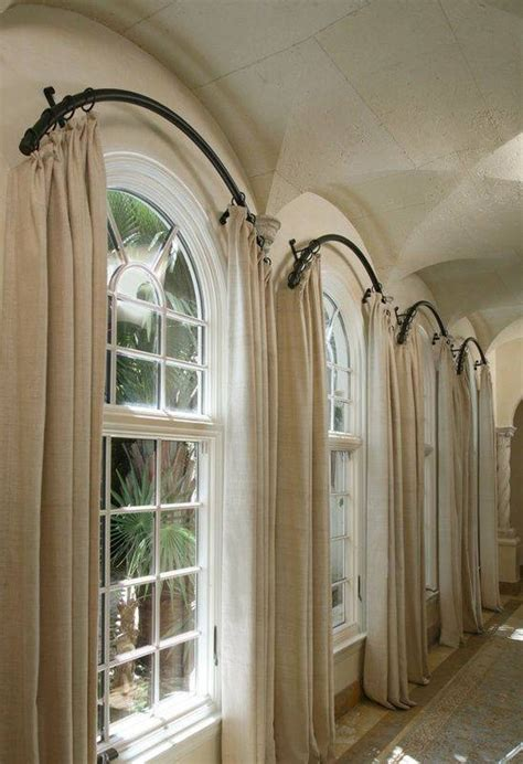 window treatments for arched windows decofurnish