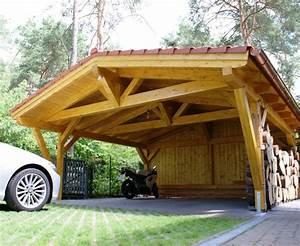 Holzunterstand Selber Bauen : der carport drei gute gr nde ~ Whattoseeinmadrid.com Haus und Dekorationen