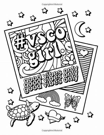 Vsco Coloring Vibes Trendy Scrunchies Confident Turtles