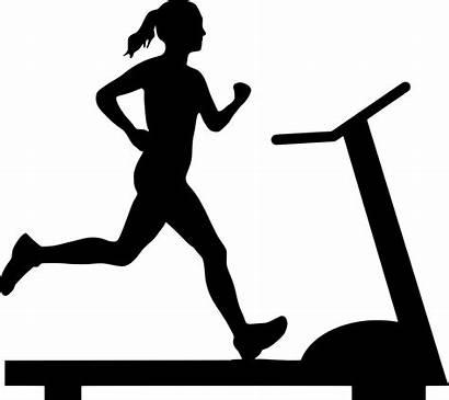 Treadmill Running Run Scared Scary