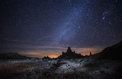 Landscape Night Stars Wallpapers Desktop Background Nature