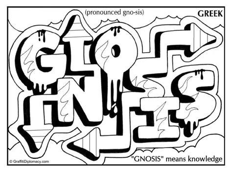 Graffiti Letters Juul Kleurplaat by Graffiti Gnosis Means Knowledge Graffiti Coloring