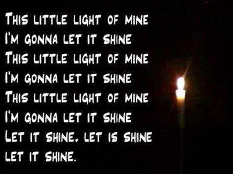 this light of mine
