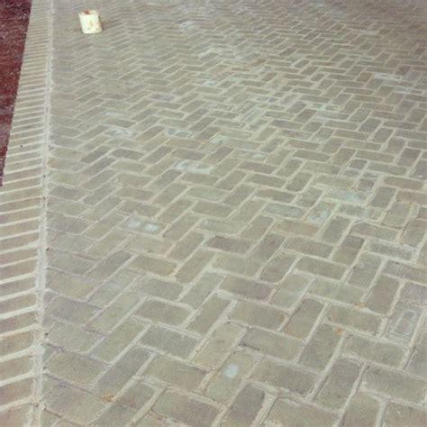 herringbone pattern brick herringbone patio love the gray brick outdoor living pinterest grey patterns and love the