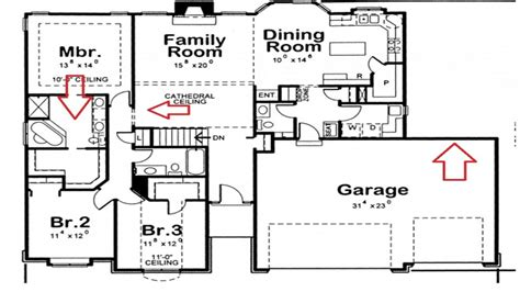 house plans with and bathrooms 4 bedroom 3 bath house plans residential house plans 4