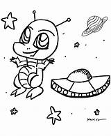Coloring Pages Anime Alien Space Spaceship Cute Print Clipart Sheets Library Aliens Drawings Sheet Activity Cartoon Printable Ship Getcoloringpages Creative sketch template