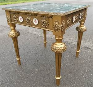 antique style gilt coffee table With antique style coffee tables