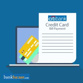 pay citibank credit card bill payment