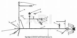 Mtd 13au609h131  1999  Parts Diagram For Electrical System