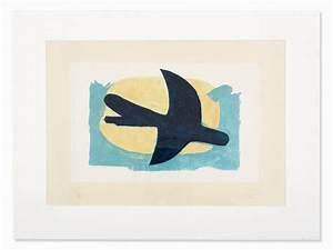 Oiseau Jaune Et Bleu : braque georges oiseau bleu et jaune 1960 mutualart ~ Melissatoandfro.com Idées de Décoration