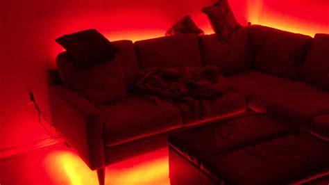 Led Hinter Sofa by Indirekte Beleuchtung Hinter Der Squarezom Club