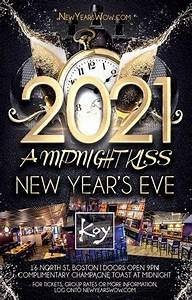 """A Midnight Kiss"" New Year's Eve 2021 at KOY Lounge Boston [12/31/20]"