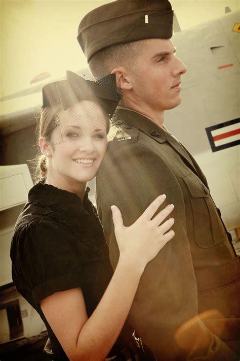 world war ii inspired engagement  bridalguide