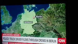 Truck driver plows through crowd in berlin - YouTube
