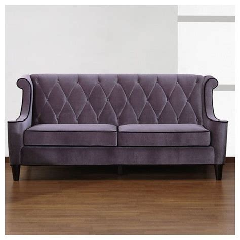 Armen Living Barrister Sofa Blue by Armen Living Barrister Velvet Sofa Wayfair Home Decor