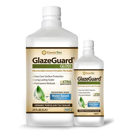 GlazeGuard Gloss Ceramic & Porcelain Tile Sealer H/Gloss