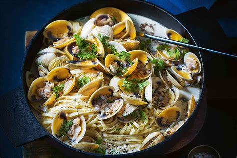 Clam linguine recipe - Recipes - delicious.com.au