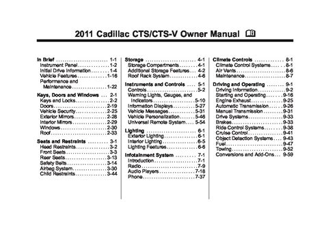 auto repair manual online 2011 cadillac cts lane departure warning 2011 cadillac cts owners manual just give me the damn manual