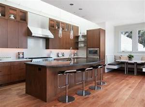 comptoir de cuisine en 31 idees design With kitchen colors with white cabinets with faire des fleurs en papiers