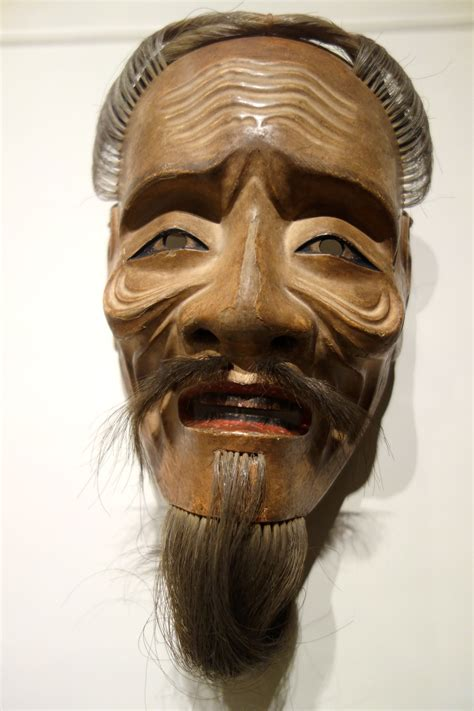 filemaijo  man  mask edo japan  century