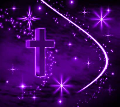 Purple Christmas Backgrounds Background Theme Christian Wallpapers