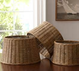 diy basket l shade