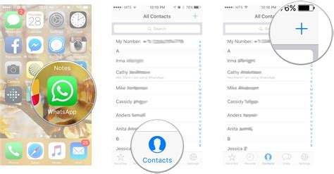how to add email to iphone how to add and block contacts in whatsapp for iphone imore