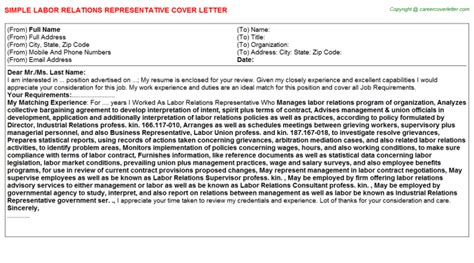 investor relations cover letters