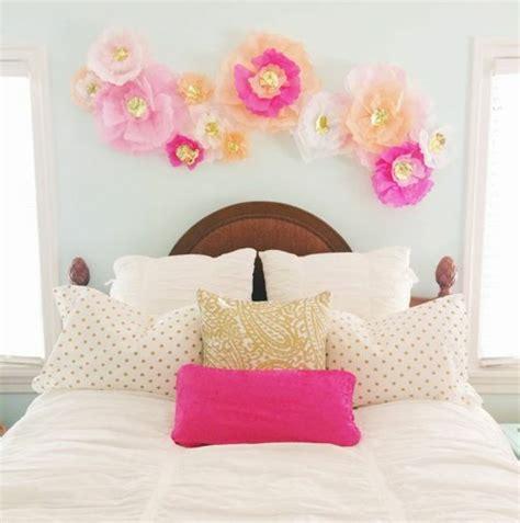 rideau chambre fabriquer une fleur en papier de soie 67 idées diy
