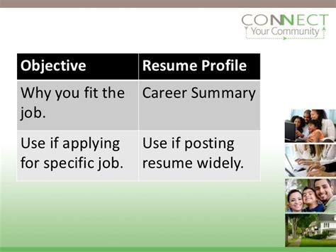 advanced resume writing