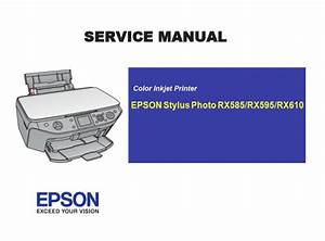 Free Download Epson Rx585 Rx595 Rx610 Printer English