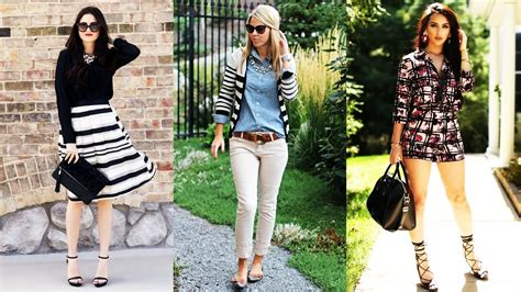 OUTFITS CASUALES PARA MUJER / TREND 2017 PARA ESTAR CHIC - YouTube