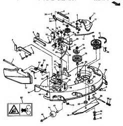 mower deck 38 quot 97cm diagram parts list for model