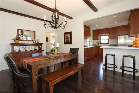 Spanish Bungalow Interior Dining — Bungalow House
