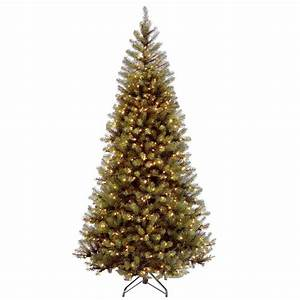 National, Tree, Company, 7, Ft, Aspen, Spruce, Hinged, Artificial, Christmas, Tree, With, 400, Clear, Lights