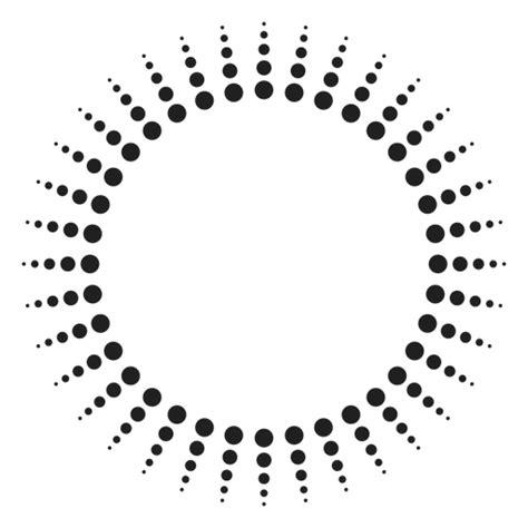 dotted sun rays circle ad ad sponsored sun rays