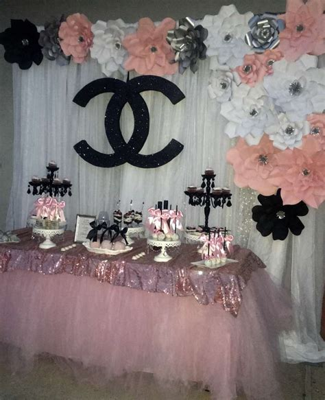 chanel bridalwedding shower party ideas photo