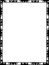 bingkai kaligrafi vector clipart