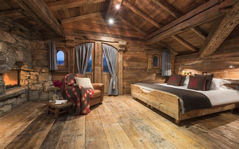 luxury ski chalet chalet montana courchevel 1850 firefly collection