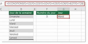 Formule Si Excel : fonction si conditions support office ~ Medecine-chirurgie-esthetiques.com Avis de Voitures