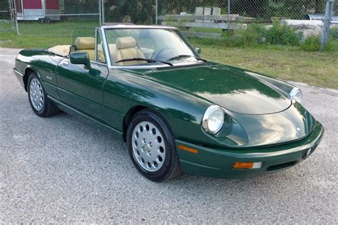 1994 Alfa Romeo Spider For Sale 36k mile 1994 alfa romeo spider veloce ce for sale on bat