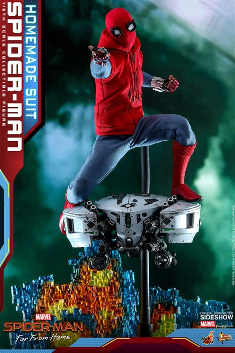 hot toys homemade suit spider man reissue  mysterio