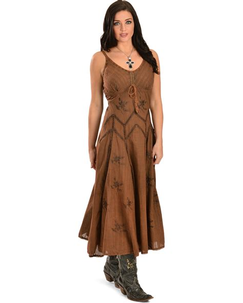 boot barn dresses scully s spaghetti dress boot barn