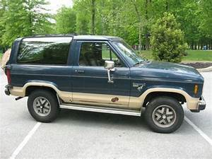 Sell Used 1986 Ford Bronco Ii Eddie Bauer Sport Utility 2