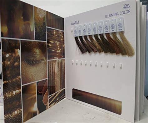 Wella Professionals Illumina Hair Color Swatch Book Binder