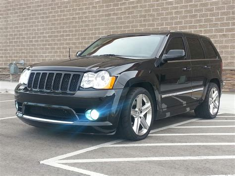 supercharged jeep cherokee 2008 jeep cherokee srt8 magnuson supercharged 1 4 mile