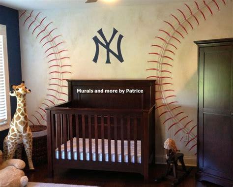 ny yankees nursery  murals    patrice