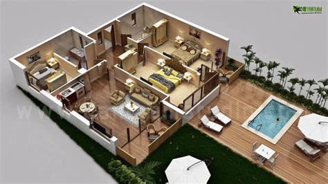 luxury mansion floor plans 3d floor plan design yantram studio for home