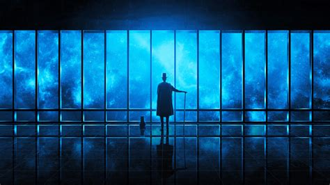 wallpaper engine watching  universe blue